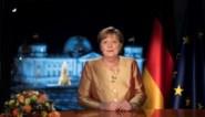 """Merkels laatste nieuwjaarsboodschap: """"Nooit met zoveel hoop uitgekeken naar volgend jaar"""""""