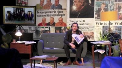 RECENSIE. 'Eindejaarsconference 2' van Bert Gabriëls: Geen zonde van de zendtijd ****