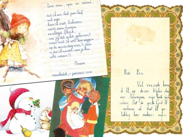 """Van """"uw toegenegen doopkind"""" tot """"je kleine kapoen"""": een tijdreis door de eeuwenoude traditie van de nieuwjaarsbrieven"""