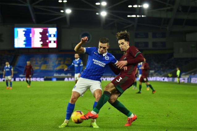 Leandro Trossard helpt Brighton met twee assists aan gelijkspel tegen Wolverhampton, waar Dendoncker nog steeds geblesseerd is