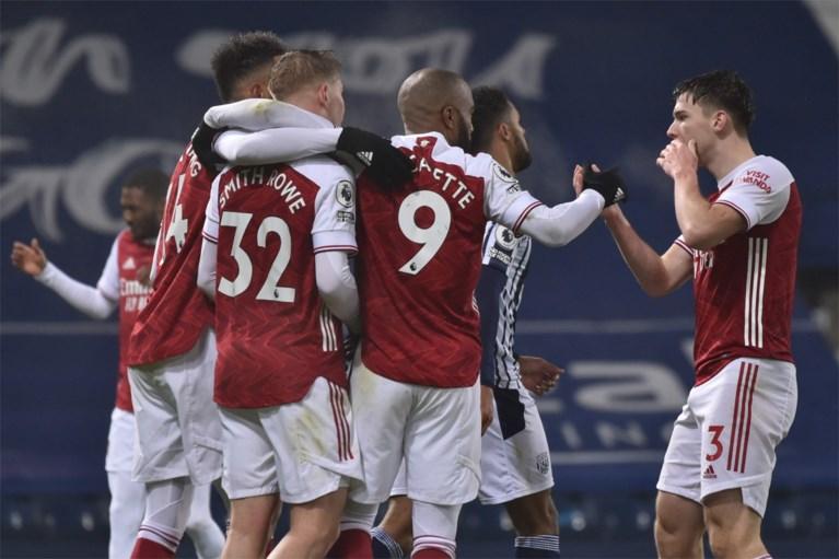 Arsenal kan nog eens uithalen en boekt zo negen op negen, Alexandre Lacazette is grote held met twee goals in vier minuten