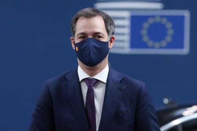 """Premier Alexander De Croo: """"Brexit-akkoord lijkt eerlijke concurrentie voor onze bedrijven te garanderen"""""""