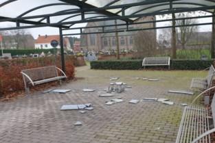 Op verschillende Kempense plaatsen ging jaarovergang gepaard met vandalisme