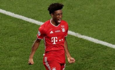 Bayern München-aanvaller Kingsley Coman is weer fit na dijbeenblessure