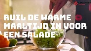 Brandweer wil dat we meer salade eten… en daar is een speciale reden voor