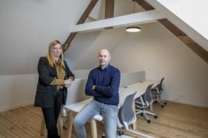 Koppel opent feestzaal annex coworkingplek in volle coronacrisis