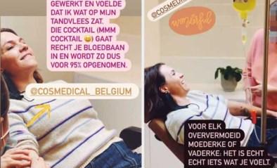 Siska Schoeters kikkert op na infuus van cocktail aan vitamines, maar daar zijn specialisten niet blij mee