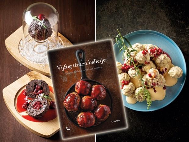 Wat krijg je als je een schrijfster van erotische verhalen een kookboek laat maken? Recepten met ballen