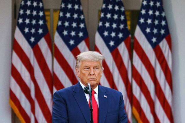 President Donald Trump blijft oproepen tot verzet tegen verkiezingsuitslag