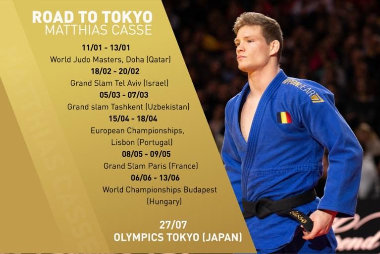 """Judoka Matthias Casse verdedigt titel op de Masters: """"Vertrouwen dat ik iedereen in de wereld kan verslaan"""""""