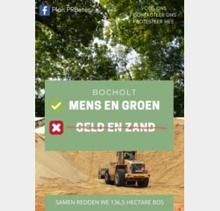 Actiecomité voert online actie tegen zandontginning Kaulille