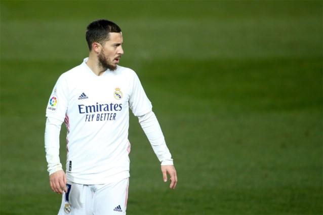 Eden Hazard start eindelijk weer in de basis, maar Real Madrid blijft in de sneeuw op brilscore steken tegen voorlaatste