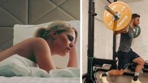 Gluren bij BV's: De opvallende werkkledij van Eline De Munck en het lockdownkapsel van Eddy Planckaert