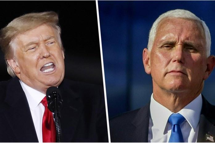 Het lot van Trump ligt in de handen van één man: Mike Pence. En die wil vooral verhinderen dat hij nog stommiteiten doet