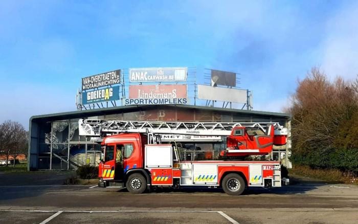 Opnieuw brand in leegstaande sporthal Molenbos