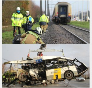 Treinen rijden weer na ongeval, overweg nog even gesloten