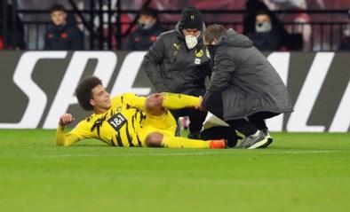 Axel Witsel scheurt zijn achillespees en lijkt EK voetbal te missen, bondscoach Roberto Martinez blijft hoopvol
