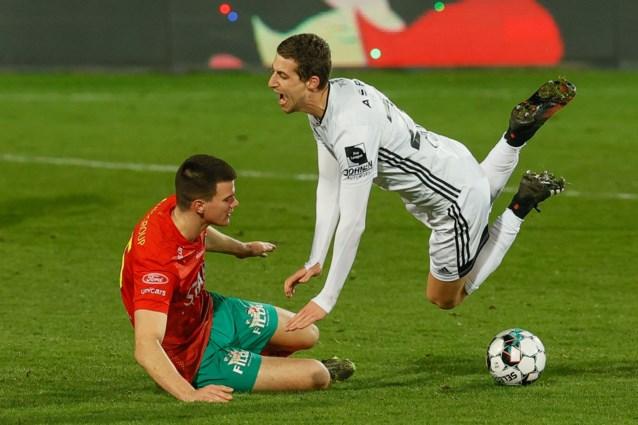Tien Eupen-spelers houden KV Oostende op een felbevochten gelijkspel in inhaalmatch
