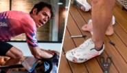 Handige Rigoberto Uran kan toch trainen ondanks gebroken teen