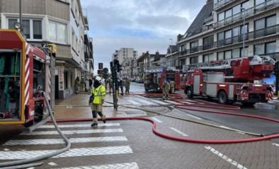Geen gewonden bij brand in leegstaand winkelpand