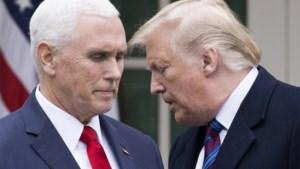 Trump en Pence hebben elkaar voor het eerst ontmoet sinds bestorming Capitool