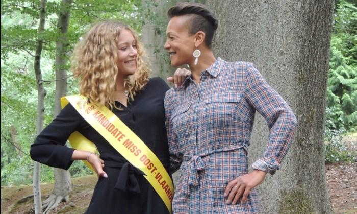 Bang om geselecteerd te worden en nu een gooi naar goud: Iona (18) schopt het tot finaliste Miss België 2021