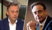 """Vete tussen Open VLD-voorzitter Lachaert en N-VA-collega De Wever (N-VA) blijft duren: """"Een kleuter die niet mag meespelen"""""""