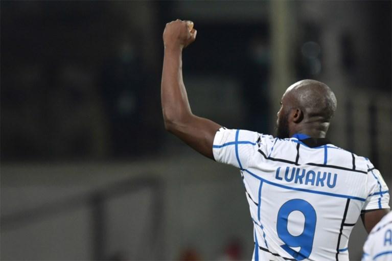Invaller Romelu Lukaku kopt Inter in slotminuut van verlengingen naar kwartfinales Italiaanse beker