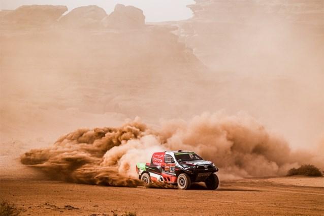 DAKAR. Yazeed Al Rajhi wint zijn tweede etappe, Peterhansel blijft leider