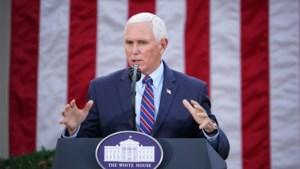 """Vicepresident Pence gaat Trump niet afzetten met 25ste amendement: """"Politieke spelletjes"""""""