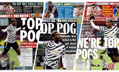 Top Pog! Britse kranten loven plots de verguisde Pogba en nieuwe leider Manchester United
