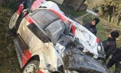 Wereldkampioen Sébastien Ogier crasht zwaar in aanloop Rally van Monte Carlo<BR />