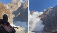 Man speelt gitaar bij idyllisch bergmeer maar moet plots rennen voor zijn leven