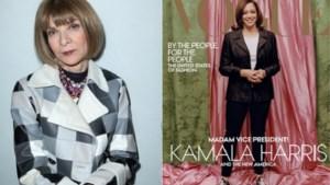 Anna Wintour verdedigt bekritiseerde 'Vogue'-cover van Kamala Harris