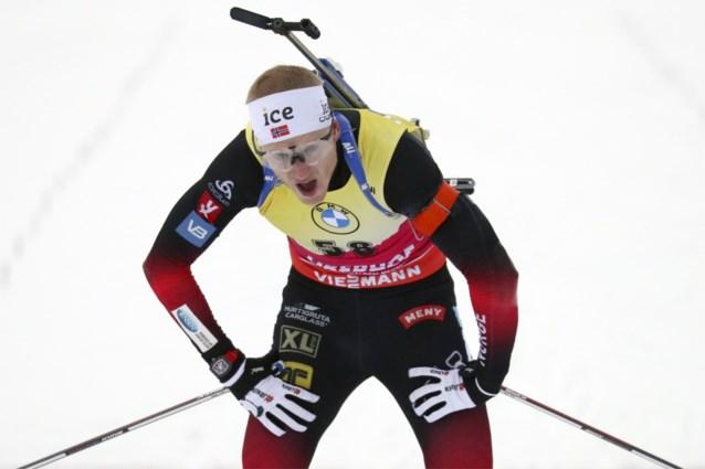 Johannes Thingnes Bø wint WB sprintbiatlon in Oberhof, Florent Claude 34ste