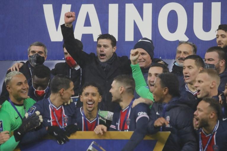 Meteen prijs voor Mauricio Pochettino: PSG pakt tegen Marseille zijn tiende Supercup