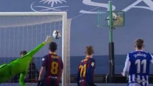"""Straffe saves Ter Stegen en paal houden Adnan Januzaj tot twee keer toe van heldenrol tegen Barcelona: """"Hier gaat hij van dromen"""""""