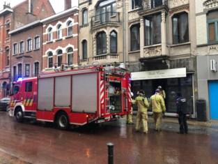 Brusselsestraat afgesloten na gaslek en brand <BR />