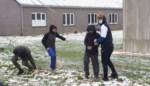 Sneeuwpret op atheneum