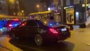 Ook auto koning Filip bekogeld tijdens rellen in Brussel