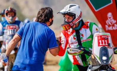 DAKAR. Franse motorrijder Pierre Cherpin overleden na zware val