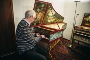 Jef Van Boven bouwt kopie van vermaard Andreas Ruckers-klavecimbel