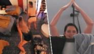 Zingen in de douche en twerken in bed: 'Big brother'-bewoners gaan los na goed nieuws in liveshow