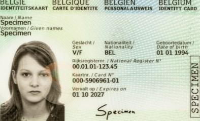 Zo ziet onze nieuwe identiteitskaart eruit: foto links, chip op de achterkant en nog moeilijker te vervalsen