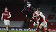 Christian Benteke kan niet scoren op Arsenal, Michy Batshuayi weer heel de match op de bank
