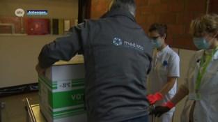 Eerste Moderna-vaccins aangekomen in ZNA Middelheim