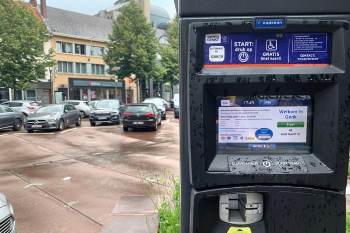 Parkeerautomaten in Genk uitgevallen