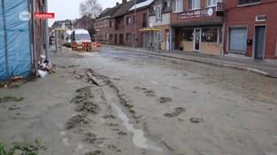 Waterlek in Hamme zorgt voor modderstroom