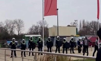 """Opnieuw protest tegen Lamkel Zé op de Bosuil: """"Redelijk incidentloos"""""""