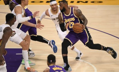 Los Angeles Lakers en Boston Celtics op eerste stek in Western en Eastern Conference